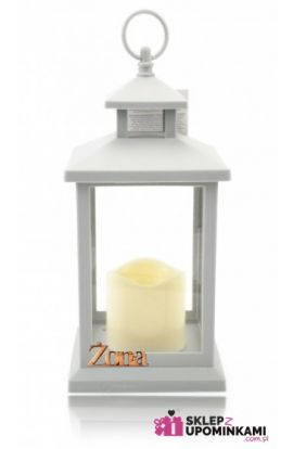 lampion led z napisem