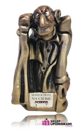 Wampir figurka z własnym napisem
