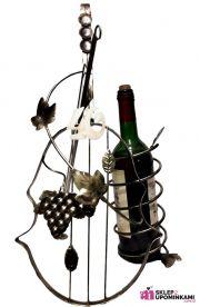 Stojak na wino skrzypce z cyferką