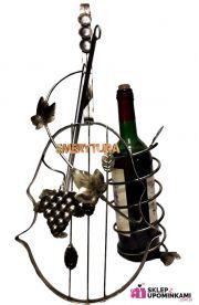 Stojak na wino Skrzypce na Emeryturę