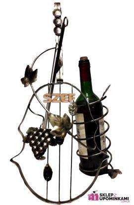 skrzypce stojak na butelkę
