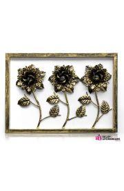 Obraz Róże metalowe dekoracje