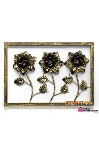 Obraz róże na emeryturę