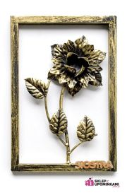 Obraz róża z dedykacją