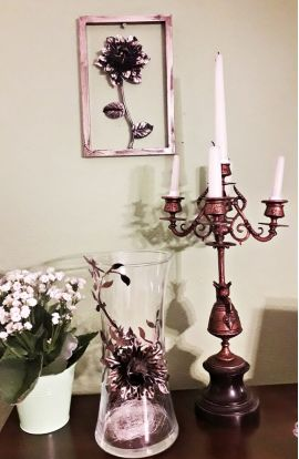obraz róże dekoracja wnętrza