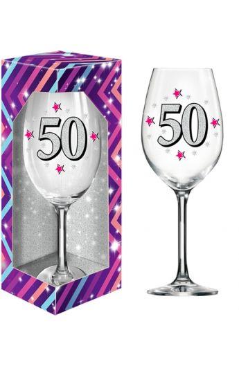 Kieliszki na 50 Urodziny XL