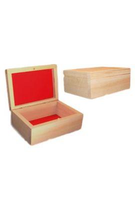 szkatułka kuferek drewniany z dedykacją