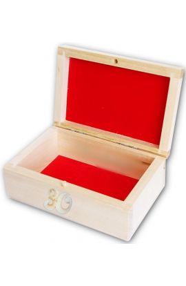 Szkatułka kuferek na urodziny z dedykacją