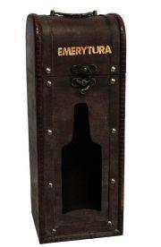 Stojak na butelkę z dedykacją na Emeryturę