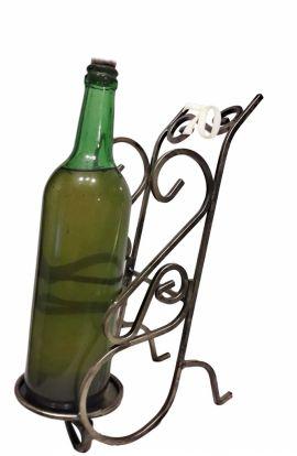 Stojak na wino z cyferką