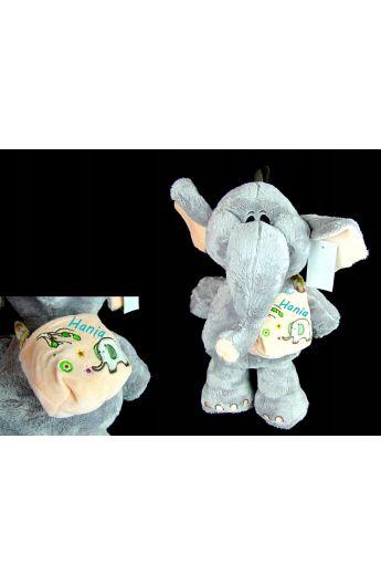 Słoń pluszowy maskotka
