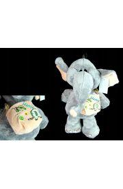 Słoń pluszowy maskotka z imieniem