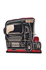 Kieliszki Stojak Auto TIR ciężarówka z napisem