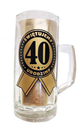 kufel na 40 urodziny