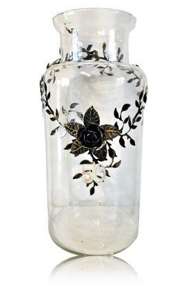 wazon z cyferką 18 30 40 50 60 70 Urodziny