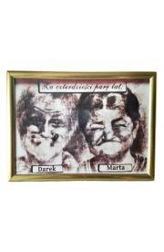 Portret karykatura dla pary