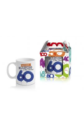 kubek na 60 urodziny