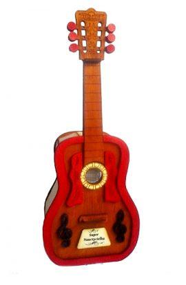 stojak na alkohol gitara 40 urodziny