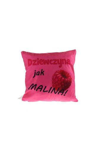 Poduszka dla Dziewczyny malina