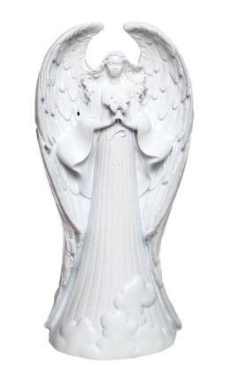 Anioł ze skrzydłami figurka