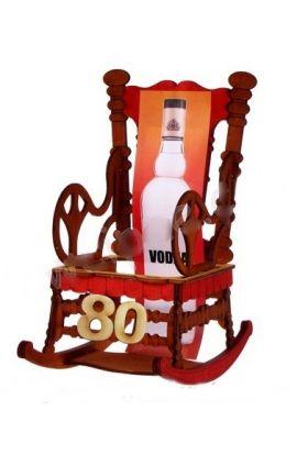 Stojak Fotel na 80 Urodziny
