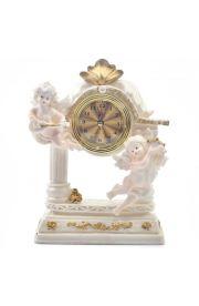Zegar kominkowy aniołki