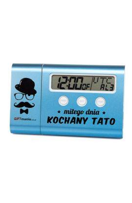 Powerbank - zegar z alarmem dla Taty