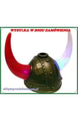helm kask rogi świecące śmieszne przebranie