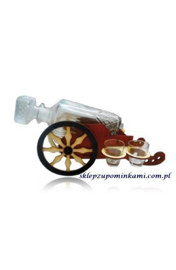 kieliszki do wódki na stojaku armata