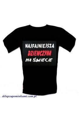koszulka z nadrukiem dla dziewczyny