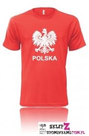 Koszulka z napisem Polska