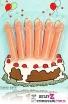 świeczki tortowe wacek