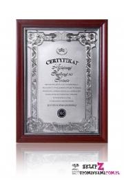Dyplom Certyfikat Szefowej prezent pamiątka
