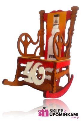 stojak na alkohol fotel na 40 urodziny
