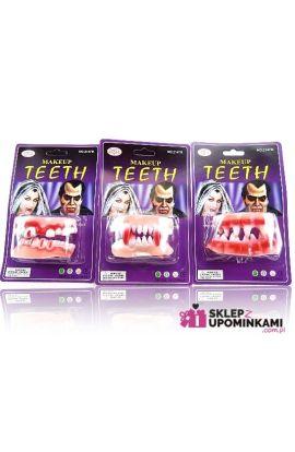 zęby wampira do straszenia