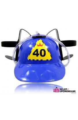 kask śmieszny na 40 Urodziny
