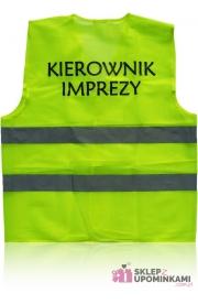 Kamizelka odblaskowa Kierownik Imprezy