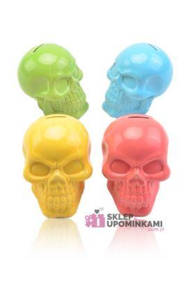 skarbonka czaszka śmieszny prezent