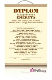 Dyplom Emeryta życzenia na Emeryturę