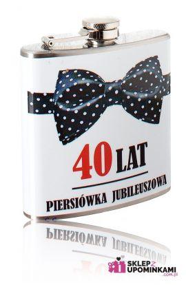 piersiówka prezent 40 urodziny