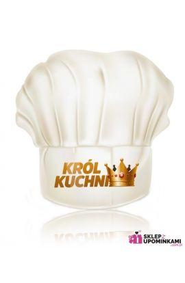 czapka kucharska ze śmiesznym napisem