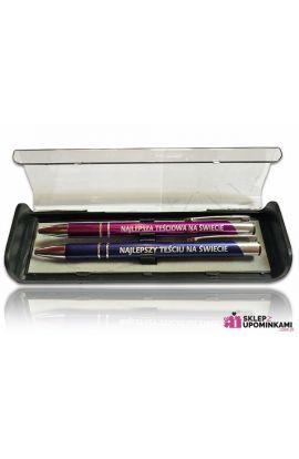 długopis dla teścia teściowej